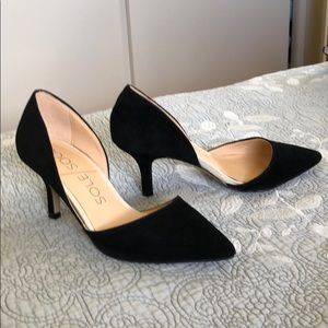 Some Society Jen suede dorsay pump